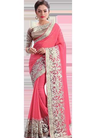 vector royalty free library Art of saree designing. Transparent saris.