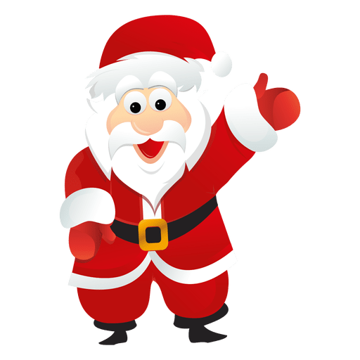 jpg black and white stock Santa claus cartoon
