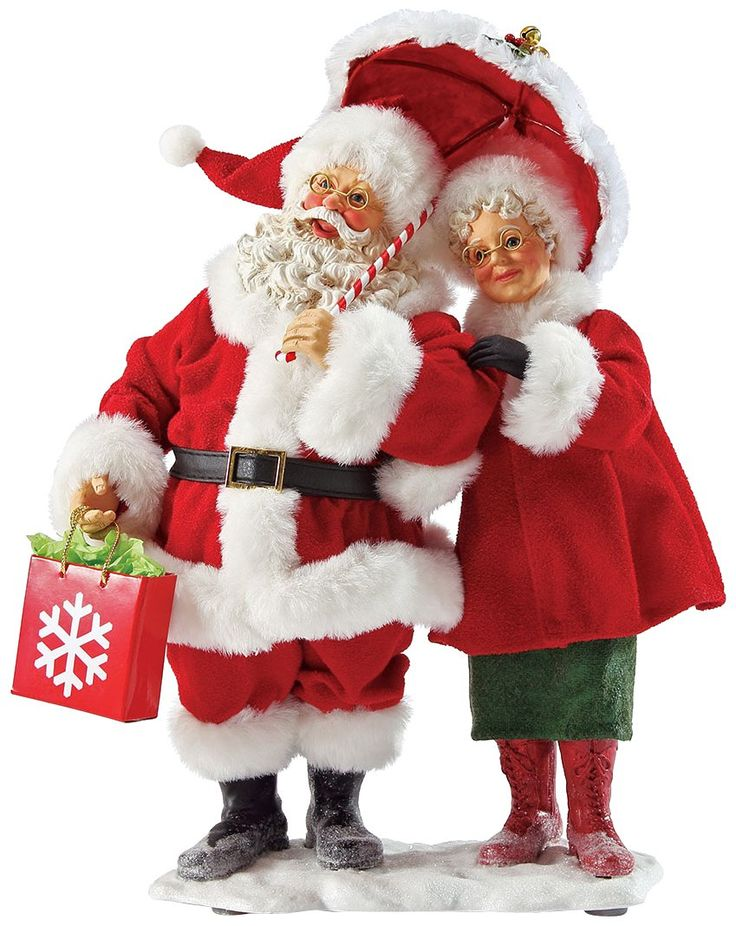 clip library download Transparent santa mrs. And claus png sant
