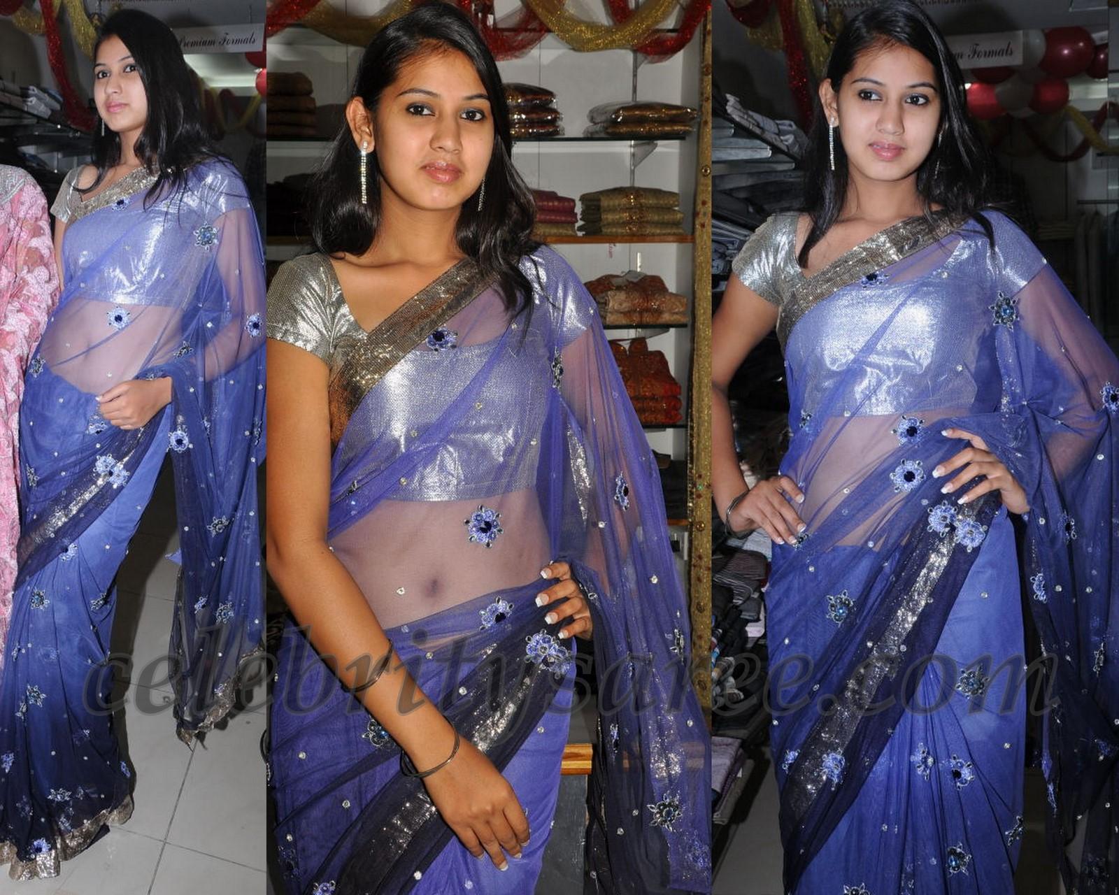 royalty free library Transparent saris. Blue saree blouse patterns.