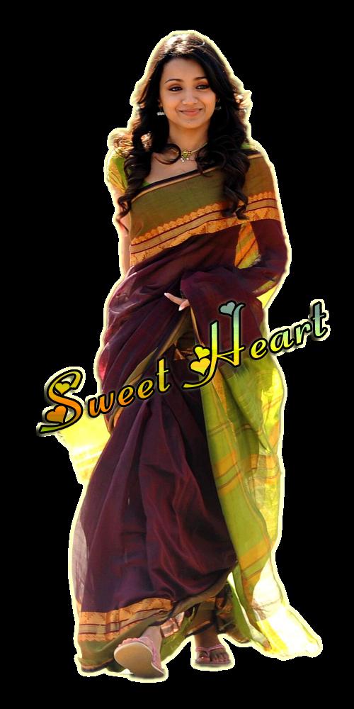 jpg black and white download Trisha Krishnan Vinnaithaandi Varuvaayaa Sari Tamil cinema Actor