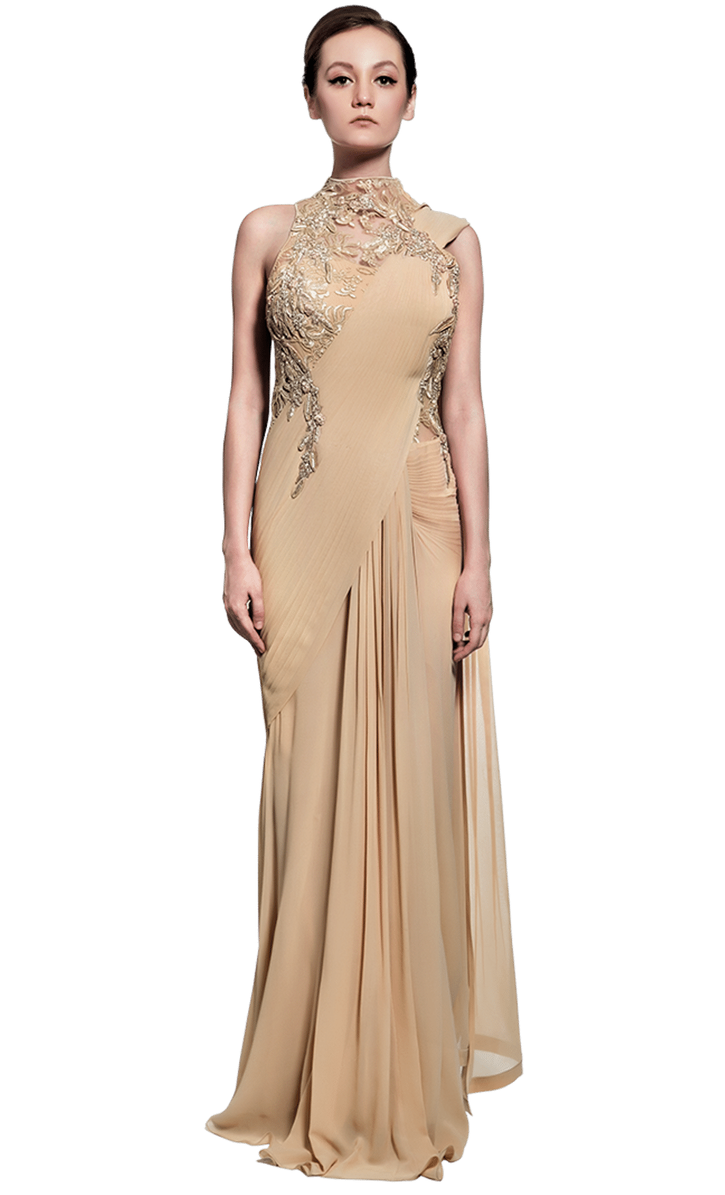 graphic free stock Saree Gowns by Gaurav Gupta