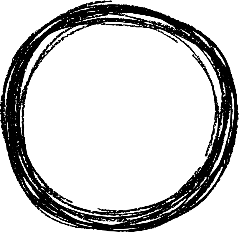 graphic transparent stock transparent scribble round #117322888