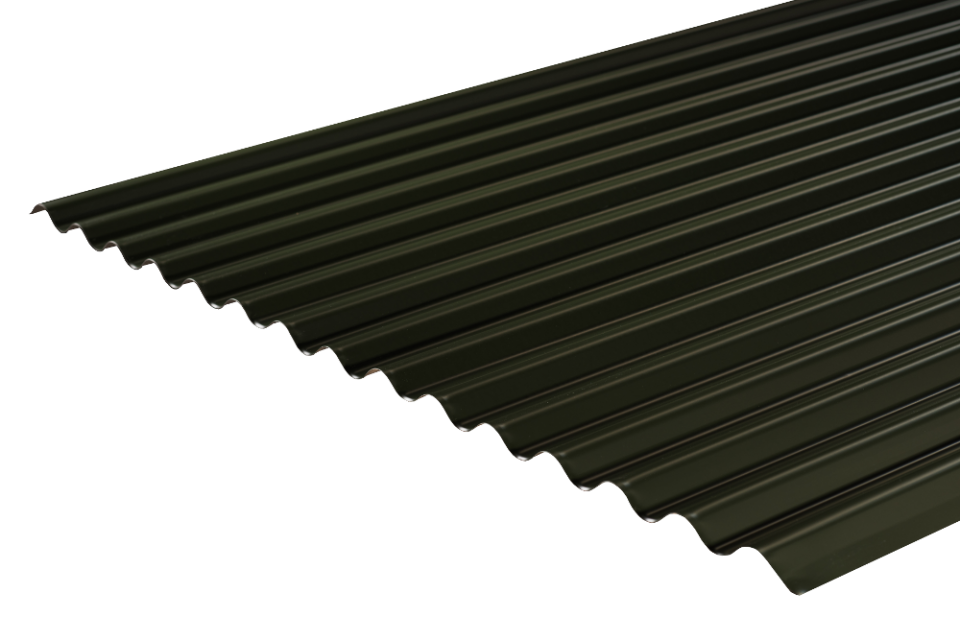 freeuse stock Corrugated Roofing Profile