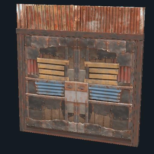 jpg freeuse library Sheet Metal Double Door