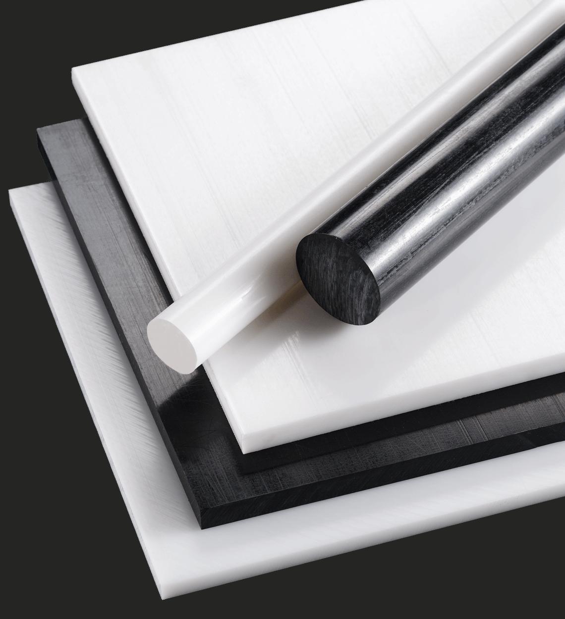 image free polymer sheet material