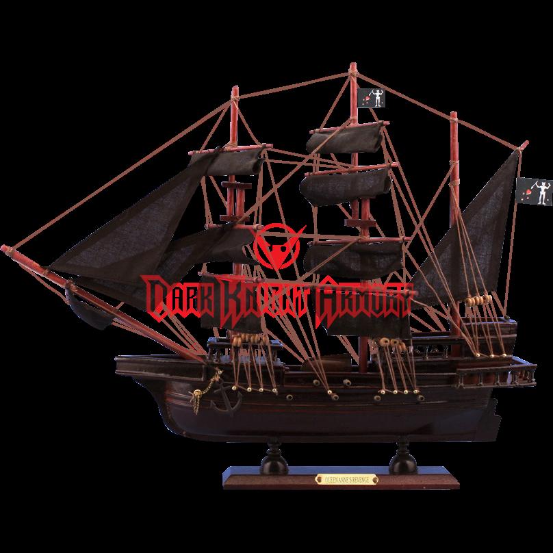 vector free library Blackbeards Queen Annes Revenge Model Ship