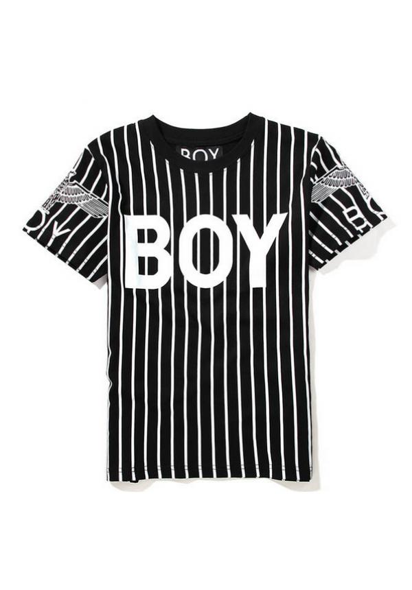 freeuse stock Boy London Striped T