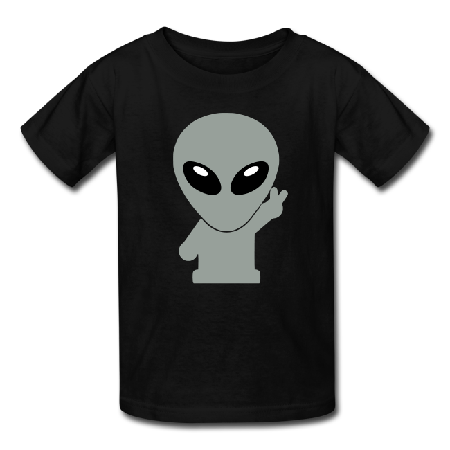 png royalty free Space Alien T