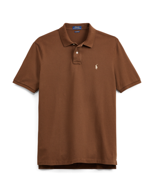 jpg library library Classic Fit Mesh Polo Shirt