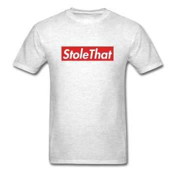 vector black and white library StoleThat Supreme Spoof T