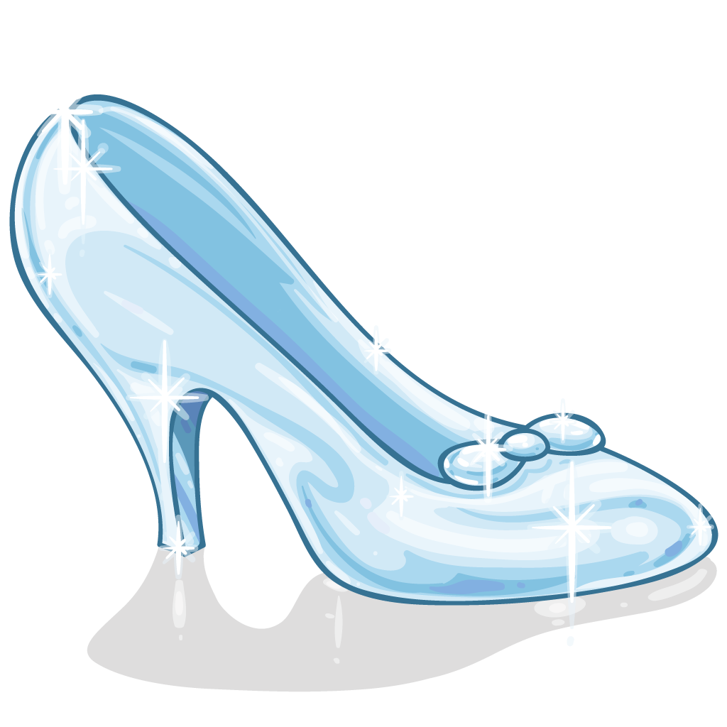 clipart transparent stock transparent shoe cinderella #117331667
