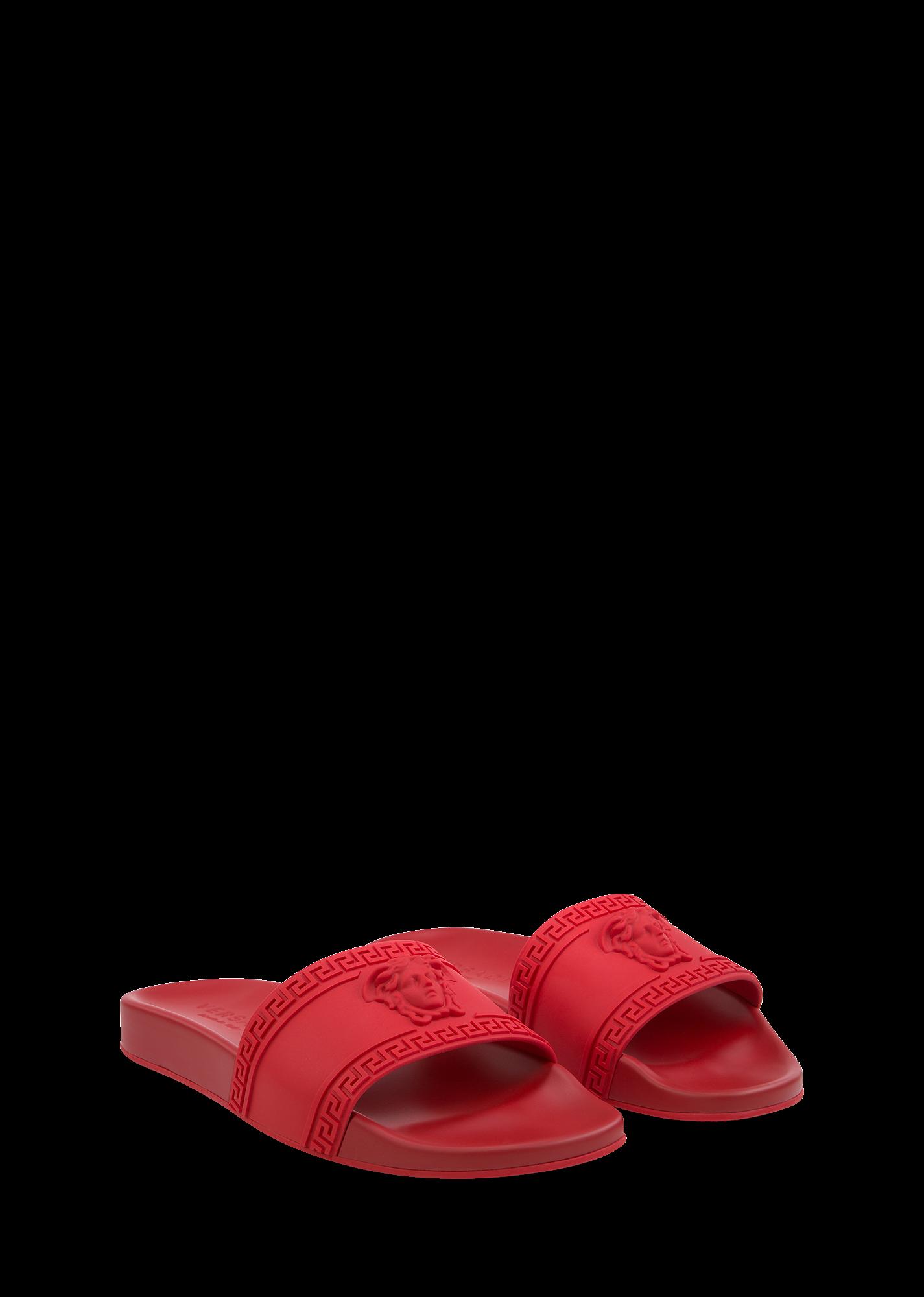 jpg freeuse stock Versace Palazzo Medusa beach sandal for Men