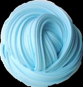 clip stock transparent slime blue #106584614
