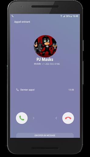 graphic Download Fake call Pj black heroes Masks Google Play softwares