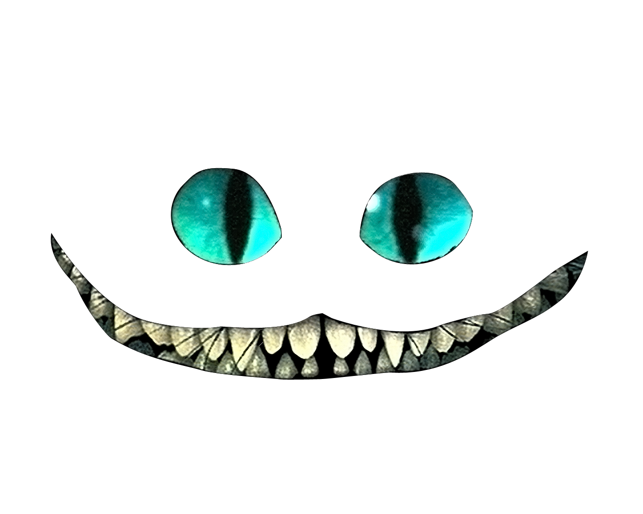 clip art freeuse stock transparent smile cheshire cat #117370780