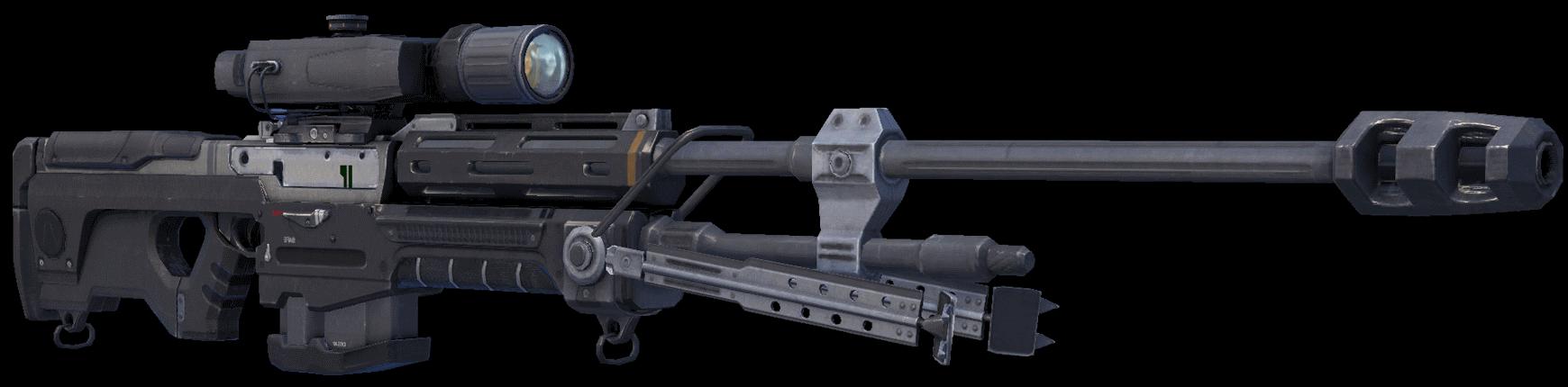 stock Rifle system anti mat. Transparent sniper halo.