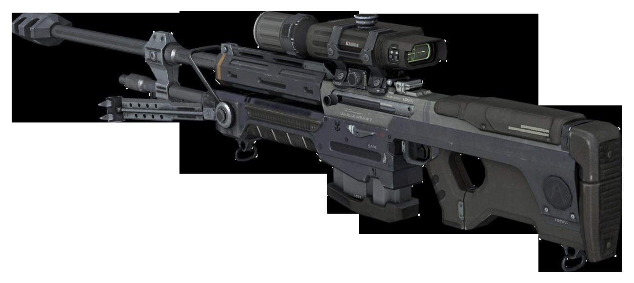 banner Transparent sniper halo. Image hreach rear png.