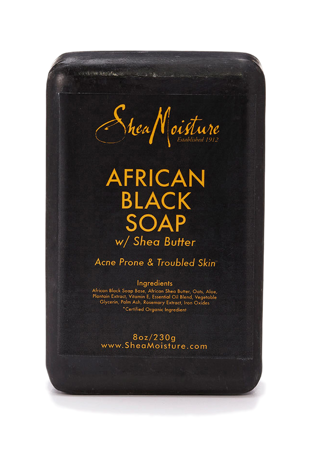 image stock African Black Soap
