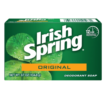 graphic transparent Irish Spring Original