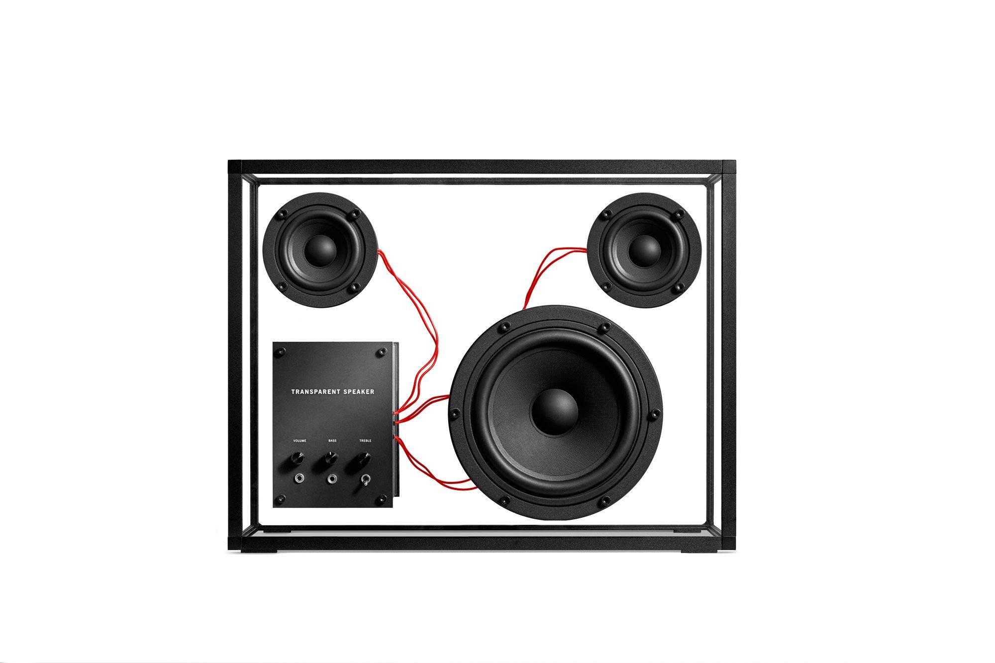 vector transparent library Transparent speakers. Speaker sound ab