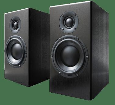 free stock Hi fi background image. Transparent speakers
