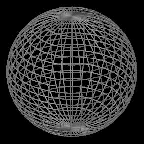 jpg download transparent sphere wireframe #106621949