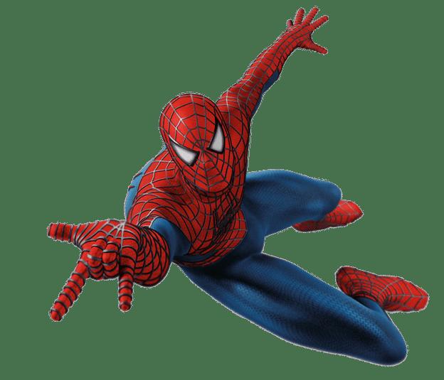 clipart transparent Spiderman transparent background