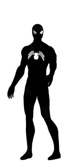 image library download Spiderman Black Suit Transparent by ggreuz on DeviantArt