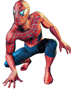 svg freeuse library transparent spiderman crouching #106645253