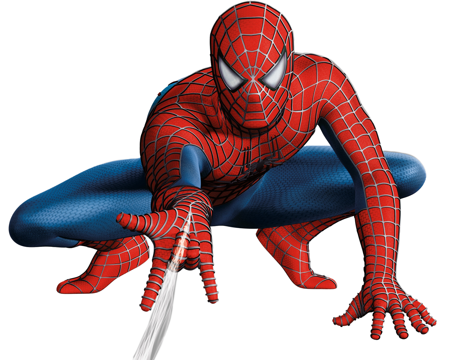 clip art black and white library transparent spiderman hi res #106638548