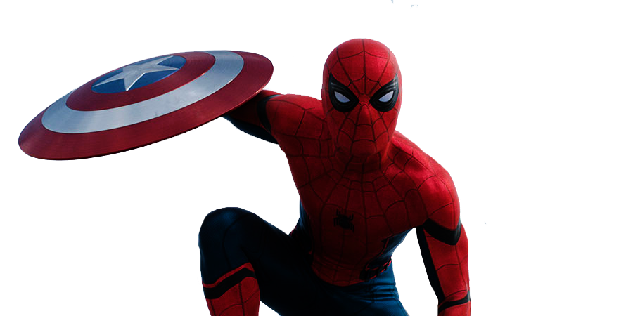 clipart freeuse library transparent spiderman mcu #106632594