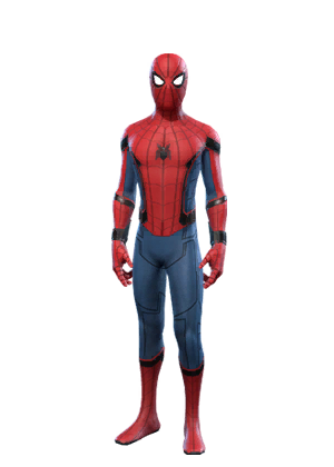 vector library library transparent spiderman suit #106634422