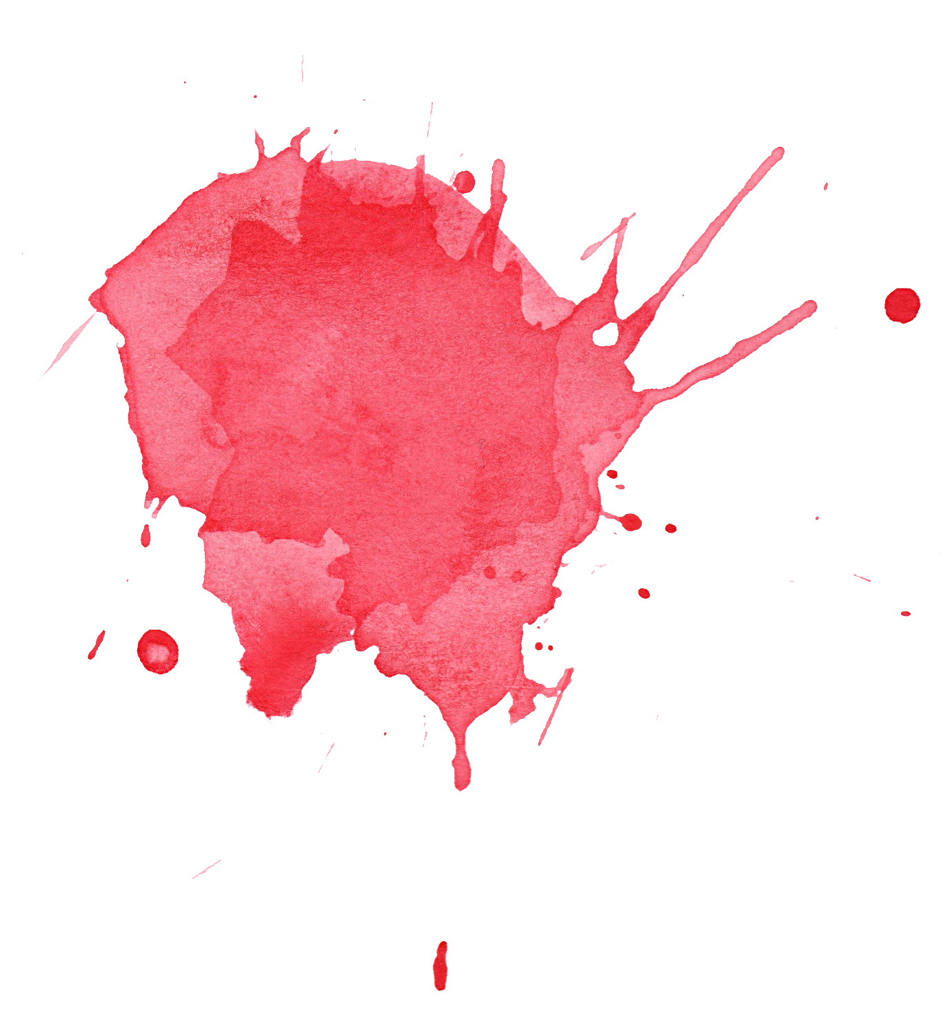 clip free stock Collection of free Red transparent watercolour splash