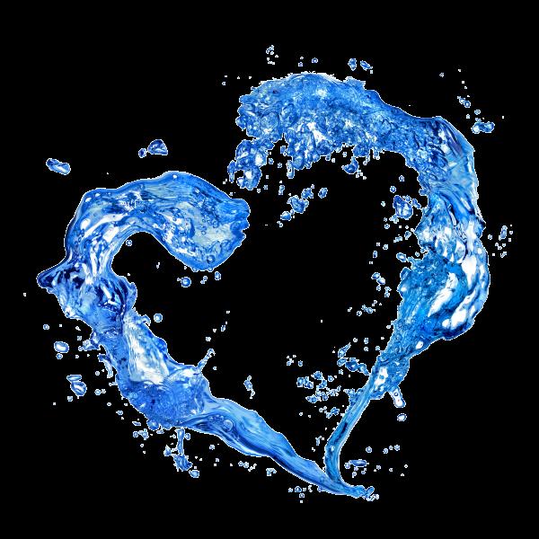 jpg royalty free download water splash heart