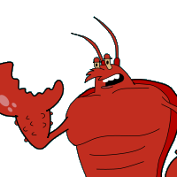banner royalty free download Larry the Lobster