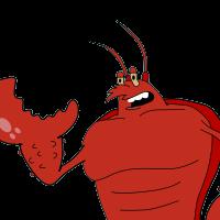 clip art transparent Larry the Lobster