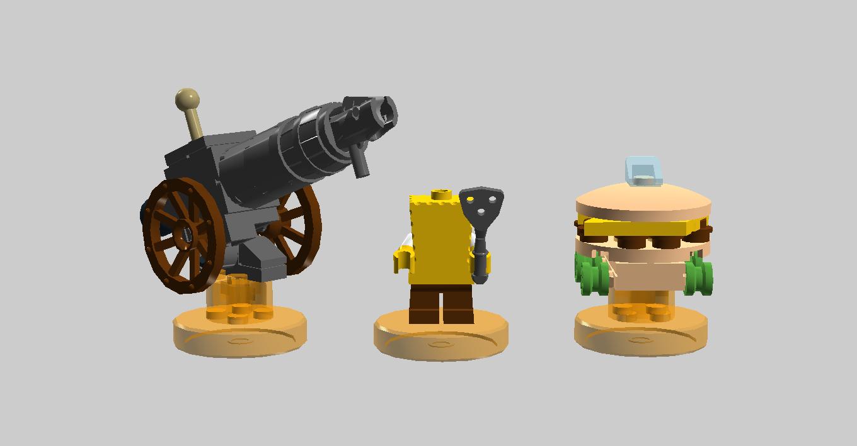 jpg transparent transparent spongebob lego #106683504
