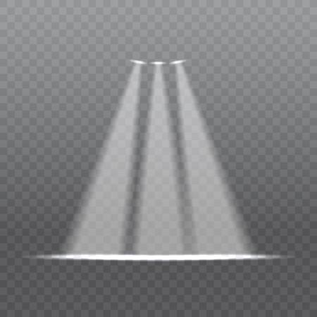 clip art free stock On a background lighting. Transparent spotlight bright