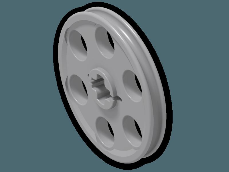 freeuse library Technic Wedge Belt Wheel