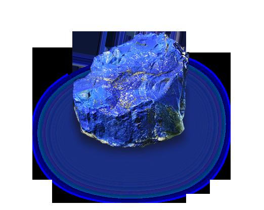 image freeuse stock Lapis lazuli the birthstone. Transparent stone rough