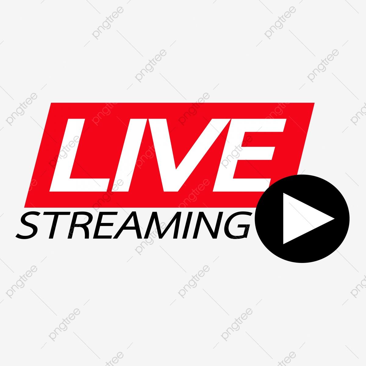 svg freeuse library Live online logo internet. Transparent streaming.