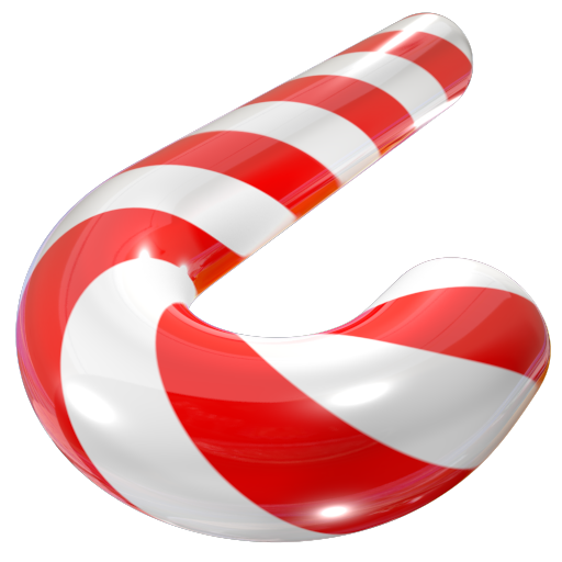 graphic free download striped candy cane christma png image