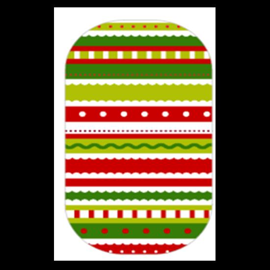 vector freeuse Christmas Stripes