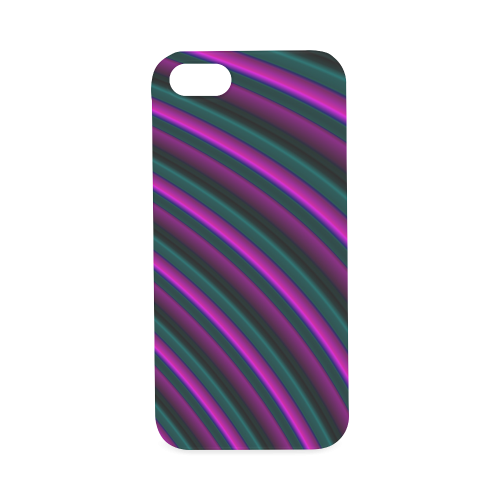 picture free download Glossy Purple Gradient Stripes Hard Case for iPhone SE