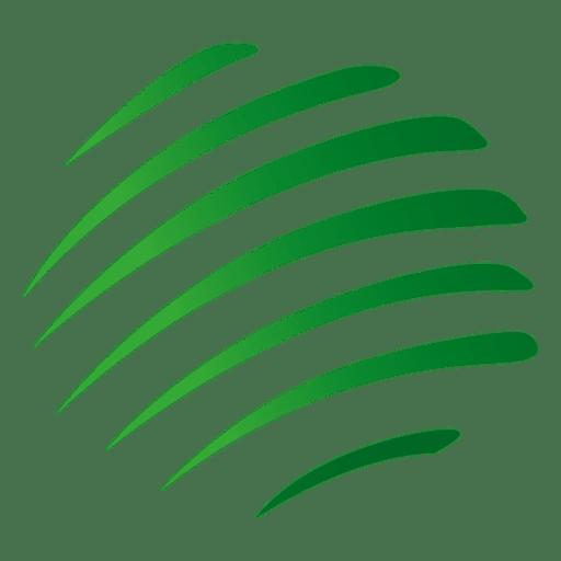 jpg library stock Green stripes orbit icon