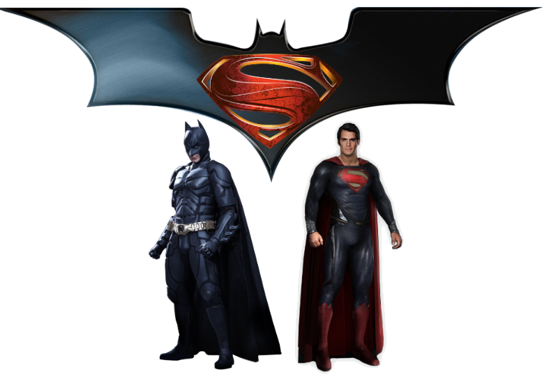 clip black and white stock Batman v Superman PNG Images Transparent Free Download
