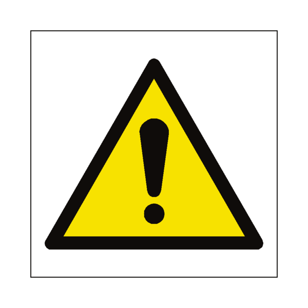 clipart transparent download General Hazard Symbol Sign