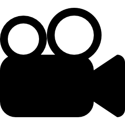 transparent stock Movie symbol of video camera