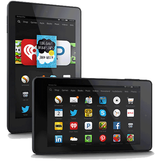 clip library download Amazon Fire HD